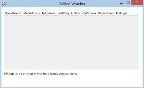 Galileo Watcher
