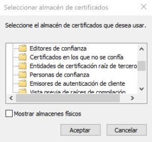 Instalando certificado